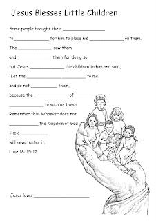 Growing Kids in Grace: Jesus welcomes the Children