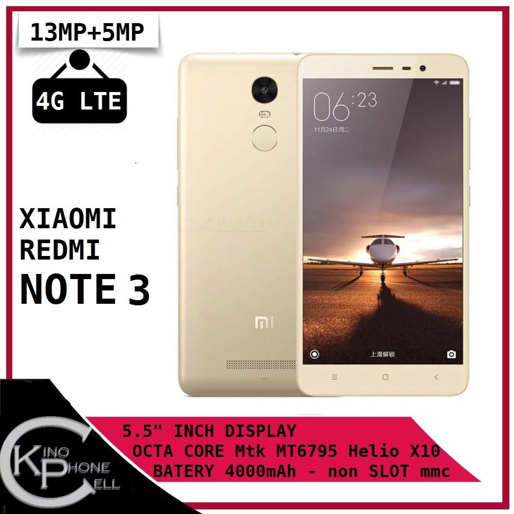 Bukalapak - PROMO Xiaomi Redmi Note 3 Ram 3GB 32GB 4G LTE Helio X10 Octa Core