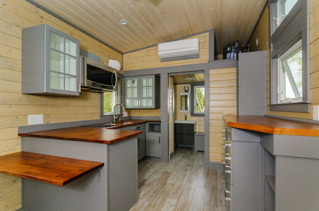 Tiny Home Designs: TINY HOUSE TOWN: The Squibb From Wishbone Tiny Homes