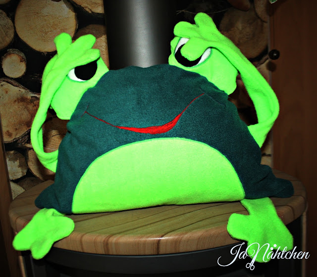 Kindertasche, Froschtasche, Froschkissen