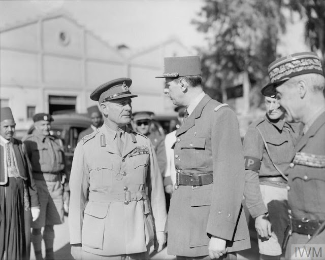 1 April 1941 worldwartwo.filminspector.com General De Gaulle Wavell