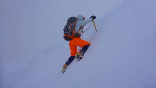 Winter mountaineering rope-work and snow belays