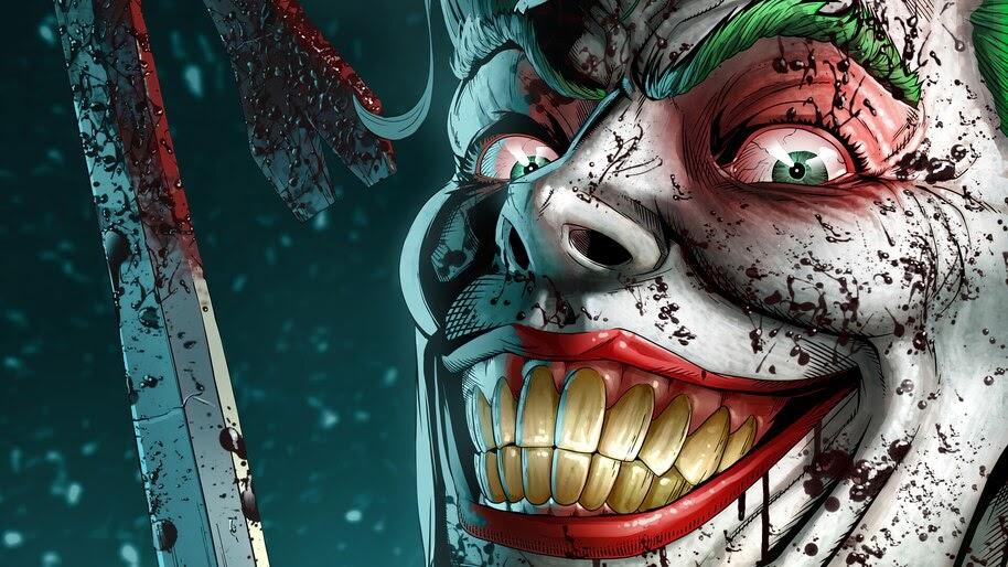 Joker, Smile, DC, Supervillain, 4K, #6.2109