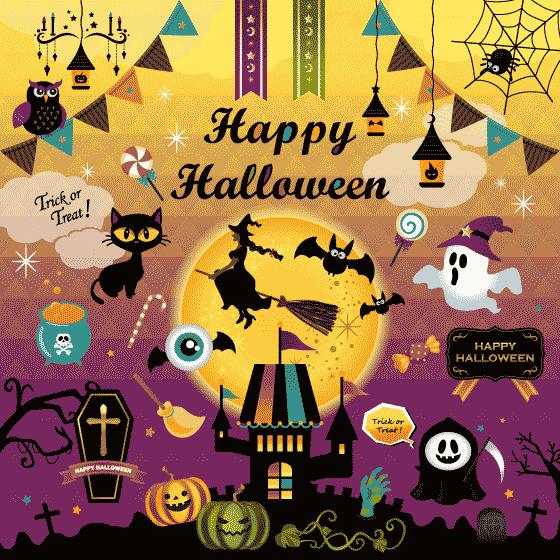 Cartel día Halloween para niños