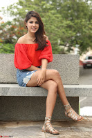 Rhea Chakraborty in Red Crop Top and Denim Shorts Spicy Pics ~  Exclusive 037.JPG