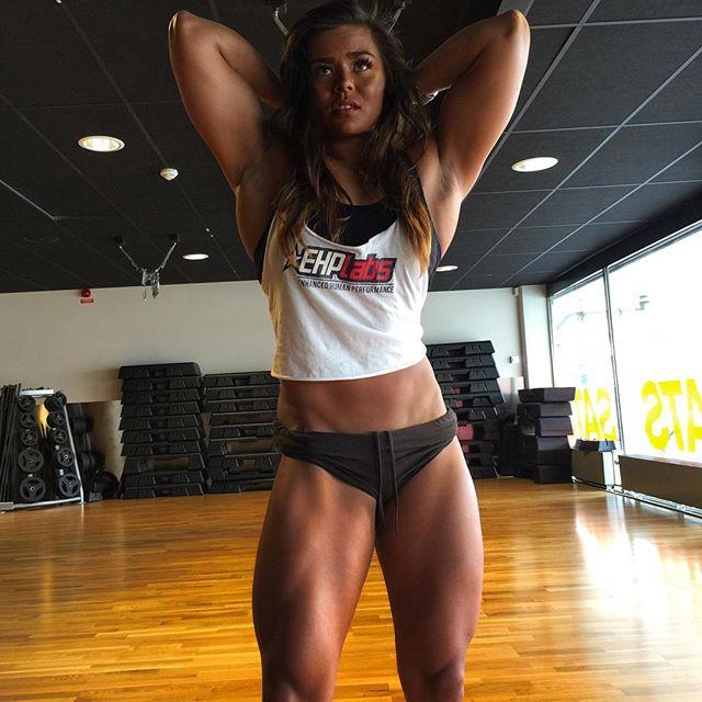 Fitness Model Sophie Arvebrink