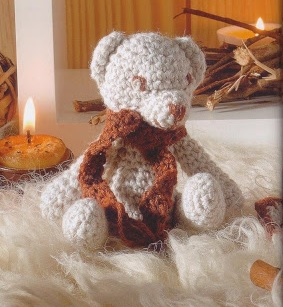 Amigurumi ours au crochet