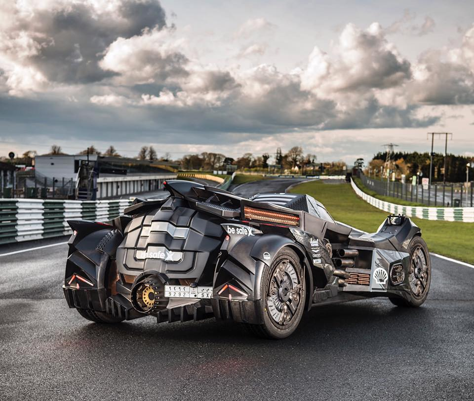 Buick Dublin: Team Galag Brought A Batmobile To Gumball 3000 Rally [w/Video]