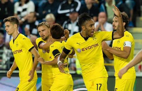 Dortmund luôn chứng tỏ mình là một đối thủ đáng gờm với mọi đội bóng khác