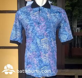 kaos batik cap