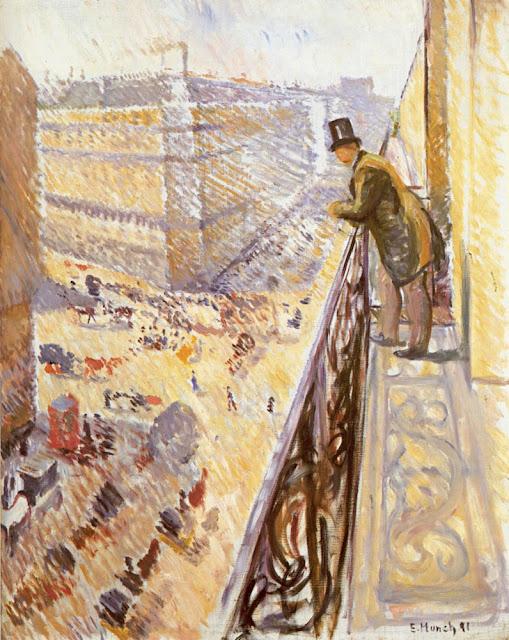 Edward Munch Lafayette Bulvarı