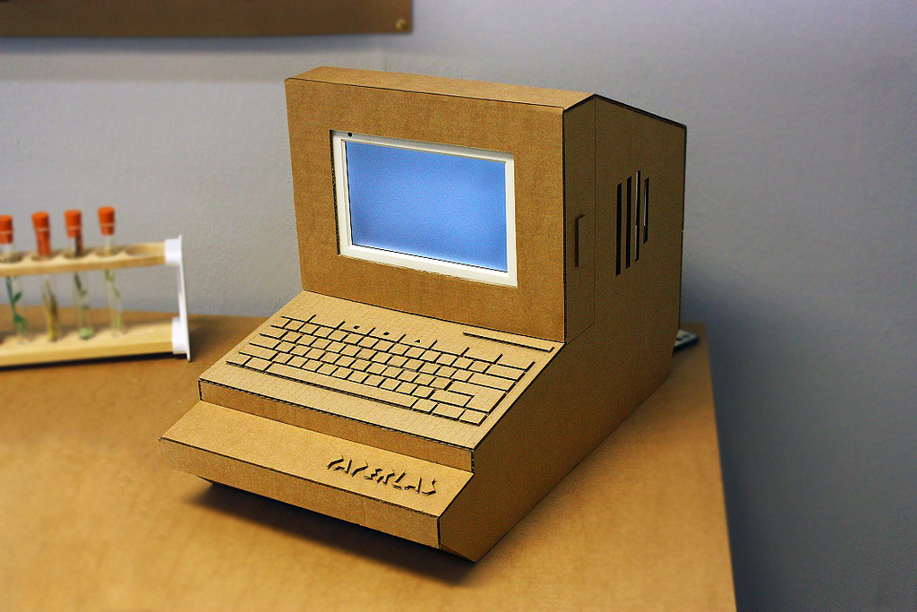 Tlc Cardboard Computer