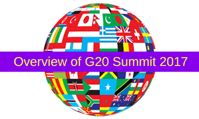Overview of G20 Summit 2017