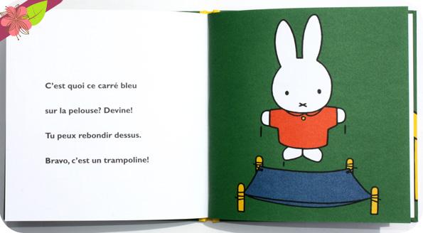 Miffy au parc de Dick Bruna - éditions Castelmore