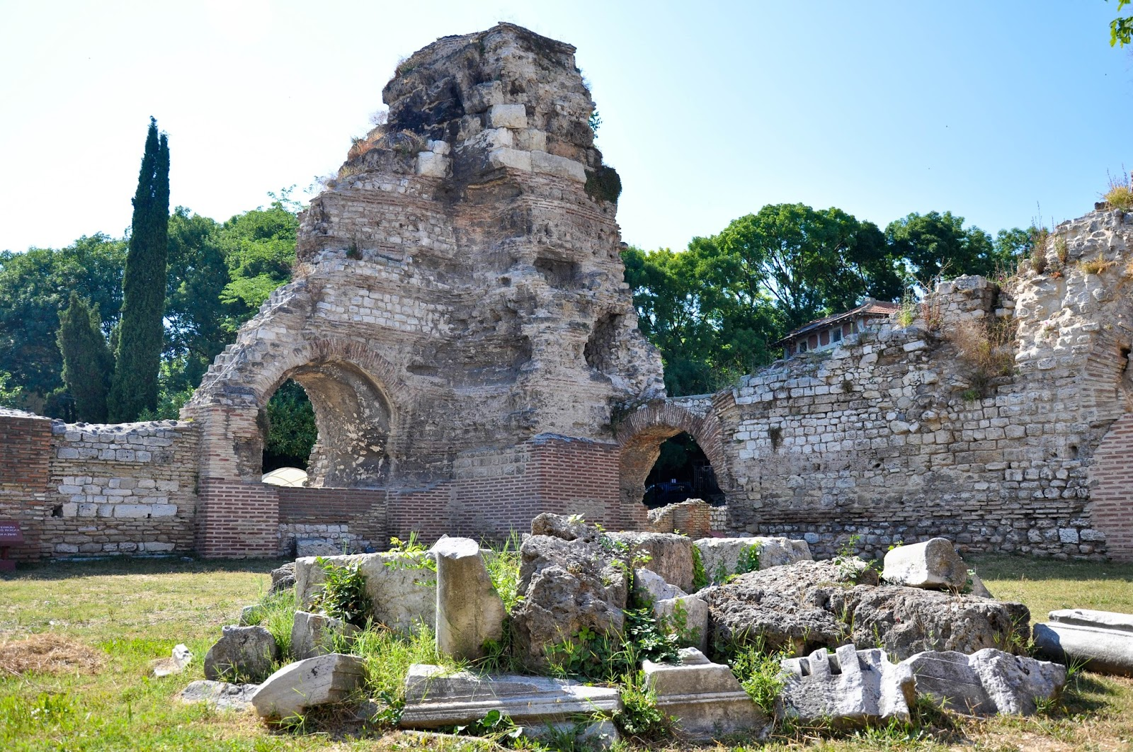 The Roman Thermae, Varna, Bulgaria