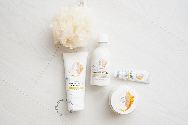 The Body Shop Almond Milk & Honey Indonesia Blogger