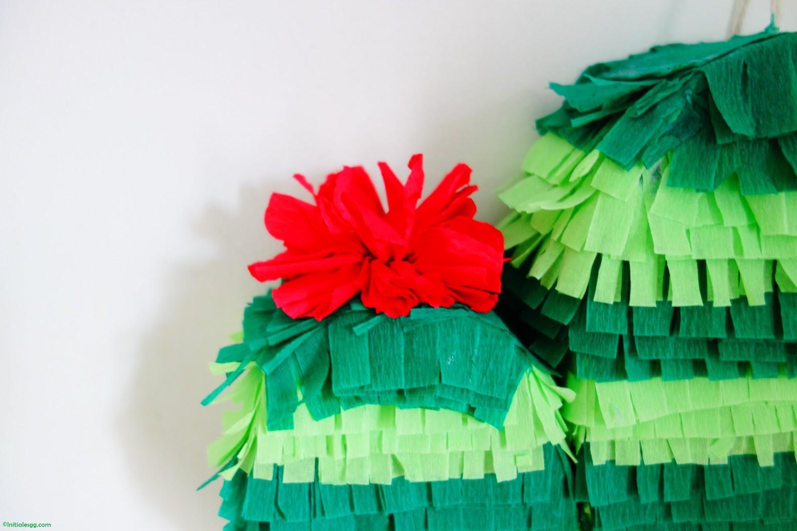 DIY Une Piata Cactus Initiales GG