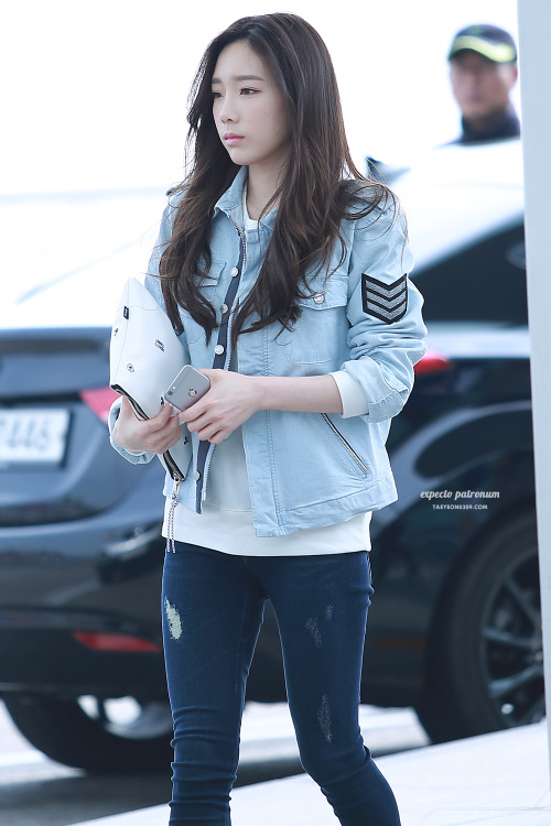 SNSD Taeyeon Airport Fashion | Official Korean Fashion