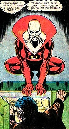 Phantom Stranger #32, Deadman on a fridge