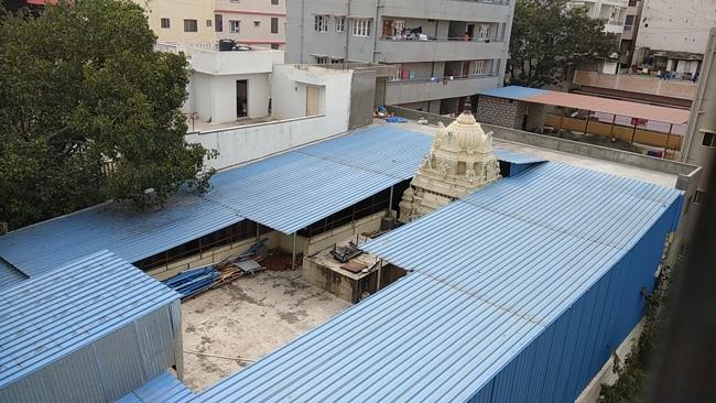 Aerial View Of Sri Hari Vaikunta Kshetra Temple