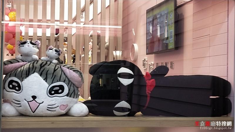[中部] 台中市沙鹿區【喵匠義式麵坊】平價美食簡餐 還有療愈超可愛的喵咪玩偶