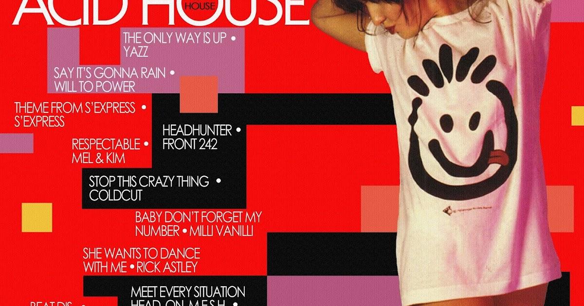 Dance vs house lp acid house 1989 for Acid house 1989