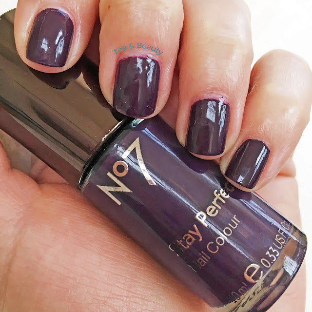 No7 Blackberry Nail polish