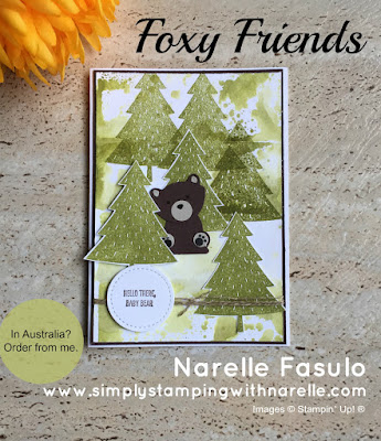 Foxy Friends - Simply Stamping with Narelle - available here - http://bit.ly/2oPYbXl