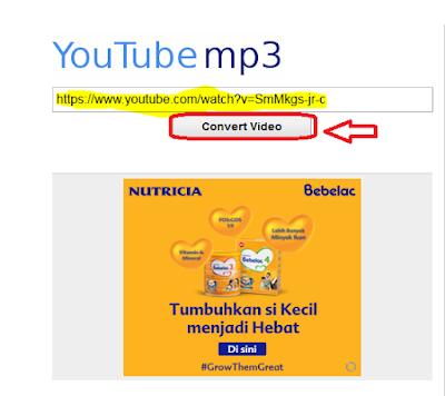 Cara Merubah Format Video menjadi Mp3
