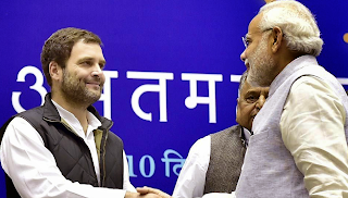 Rahul Gandhi turns 46, PM Modi wishes