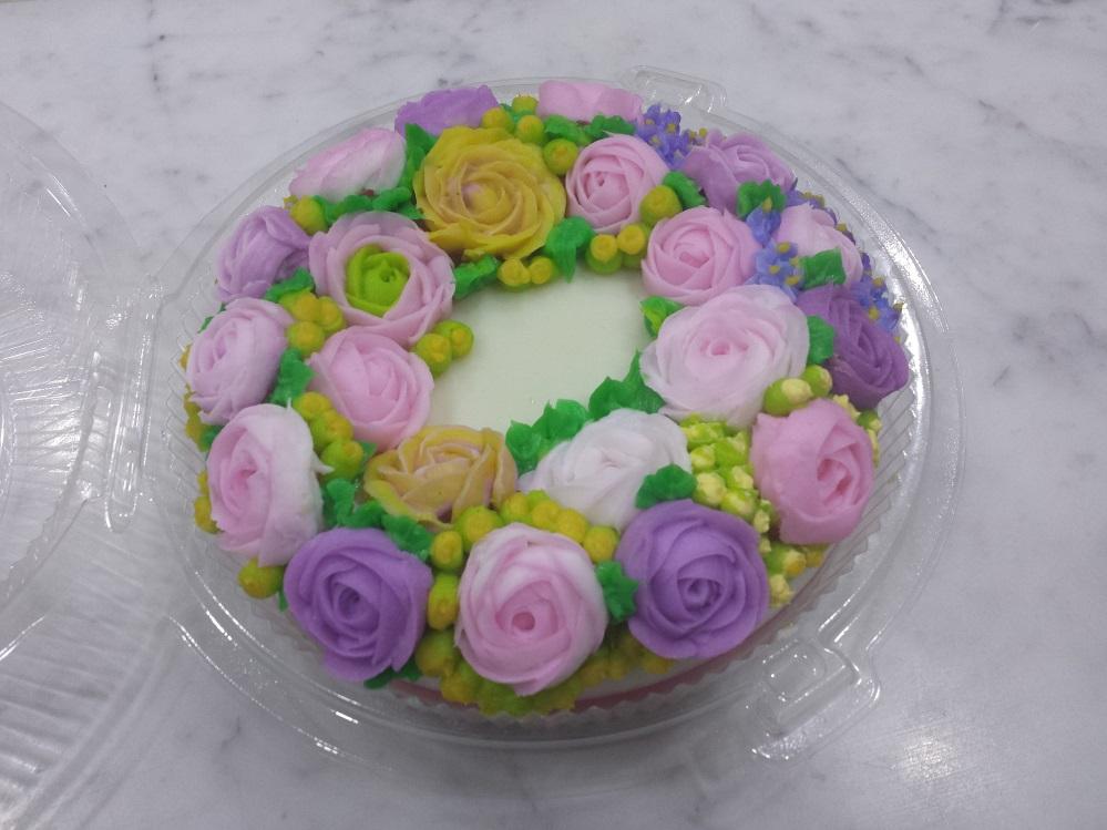 Rose Jelly Cake Recipe: Yochana's Cake Delight! : Rose Jelly Cream Cake