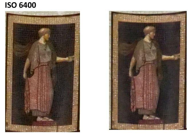 Сравнение ISO 6400 на Panasonic Lumix GH5 и G9