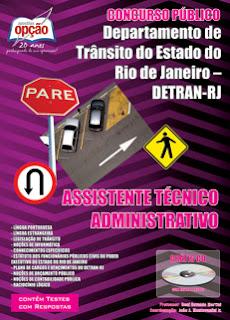 Concurso DETRAN-RJ - Departamento de Trânsito do Estado do Rio de Janeiro