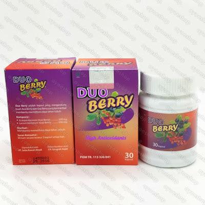 Gambar Suplemen Pelangsing dan Pemutih Duo Berry BPOM