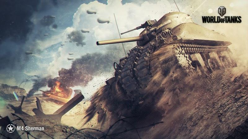 World Of Tanks (M4 Sherman) HD