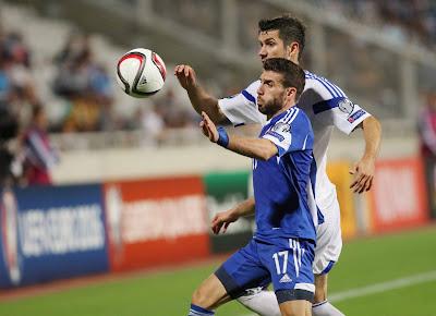 Έξι ποδοσφαιριστές του ΑΠΟΕΛ στην Εθνική Κύπρου για το φιλικό με την Ουκρανία