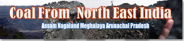 Coal from North East India