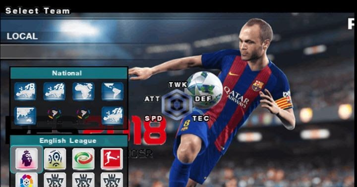 download game ps2 iso pes 2018