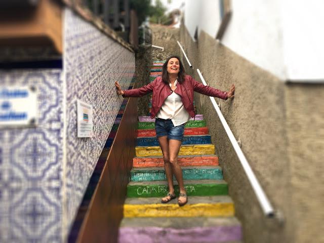 """""""Escalera de colores"""" Ribadesella"""