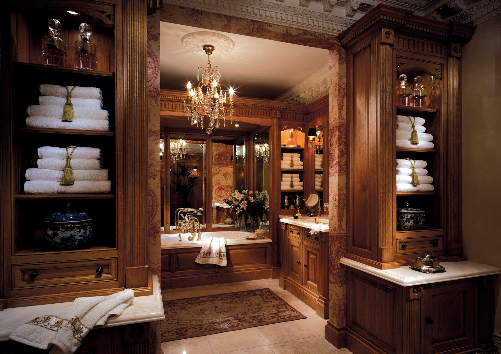 Luxury Bathrooms: TRADITION INTERIORS OF NOTTINGHAM: Clive Christian Luxury