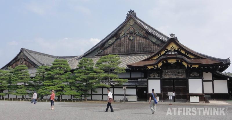 Ninomaru palace nijo castle kyoto japan