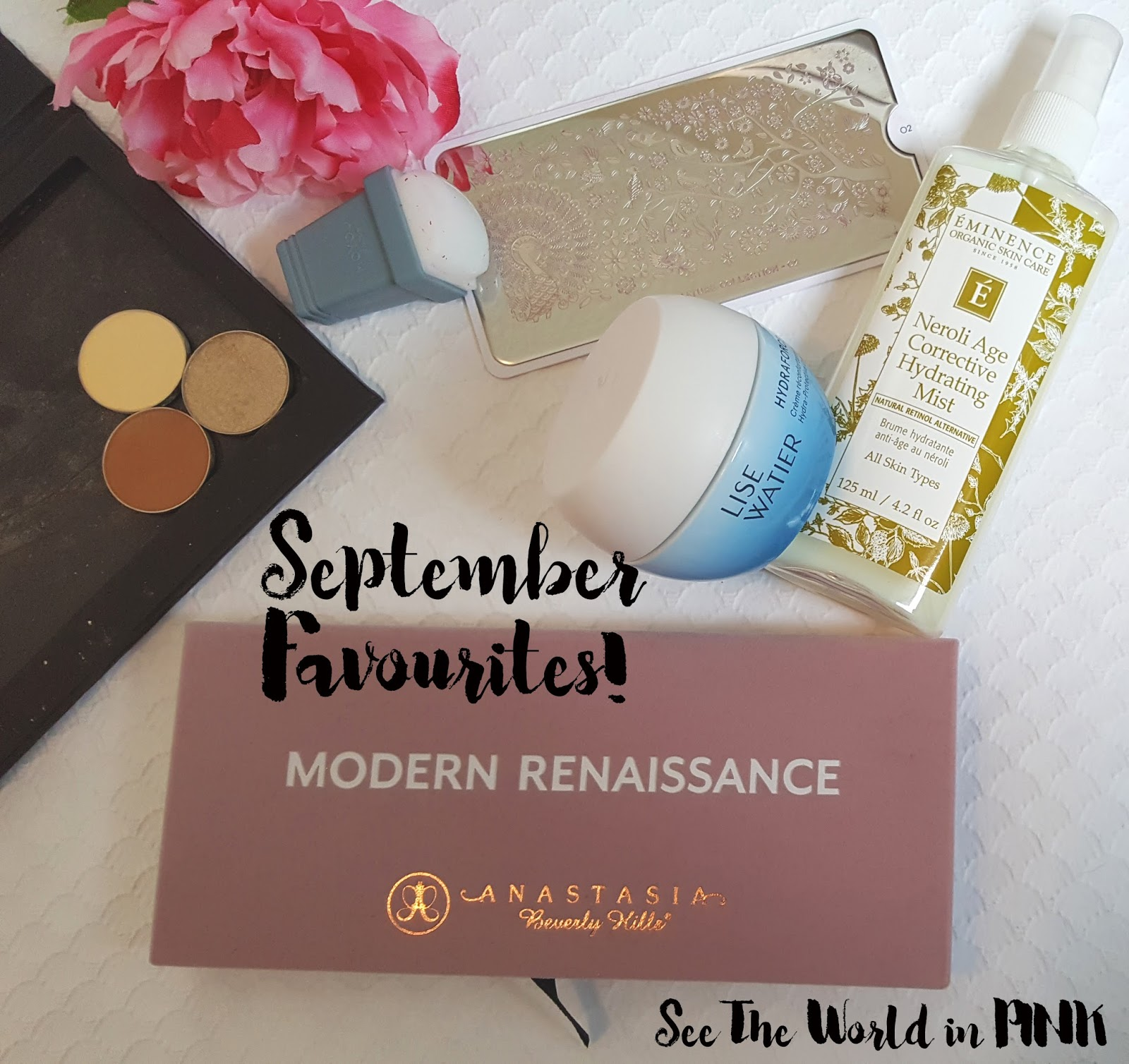 September 2016 - Monthly Favourites!