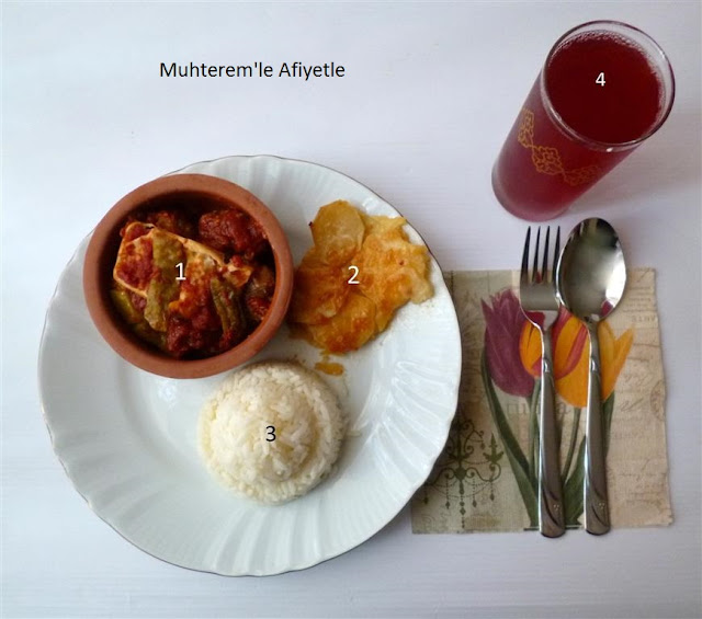 iftar mönüsü