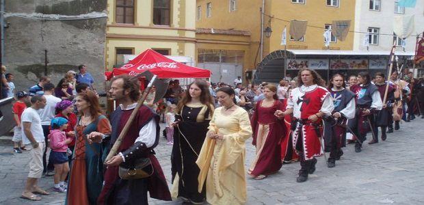 Sighișoara în atmosferă de sărbătoare medievală