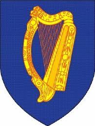 El Escudo del TERCIO IRLANDÉS con el Arpa Céltica