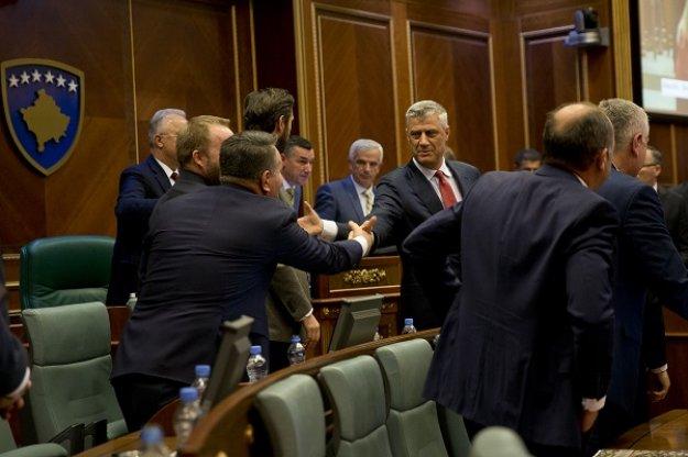 Θάτσι: Μετά τη συμφωνία των Πρεσπών σειρά έχει η επίλυση του ζητήματος του Κοσόβου