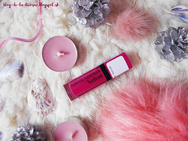 Bourjois Paris Rouge Edition Velvet recenzia