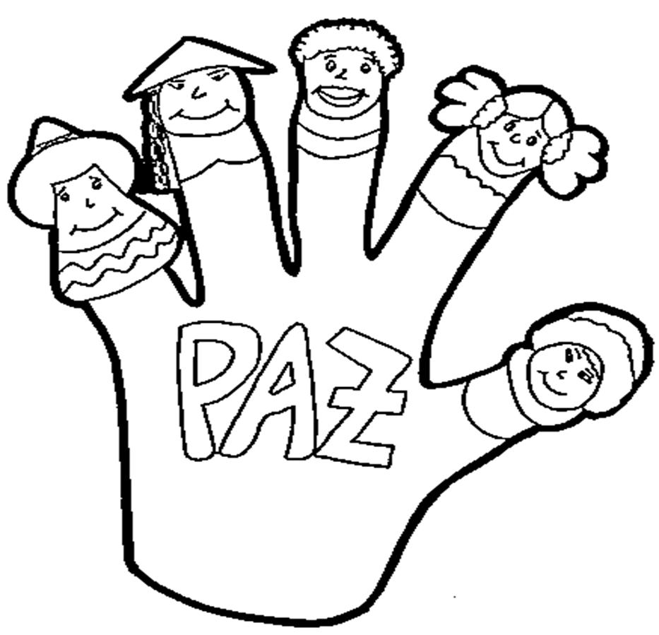 banco de imagenes y fotos gratis dibujos dia de la paz para pintar