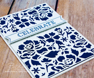 Celebrate with the Detailed Floral Thinlit Dies from Stampin' Up! UK which you can get here