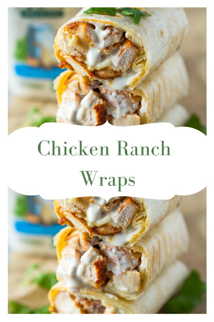 #Easy Best #Chícken #Mayo #Wraps I Ever Made